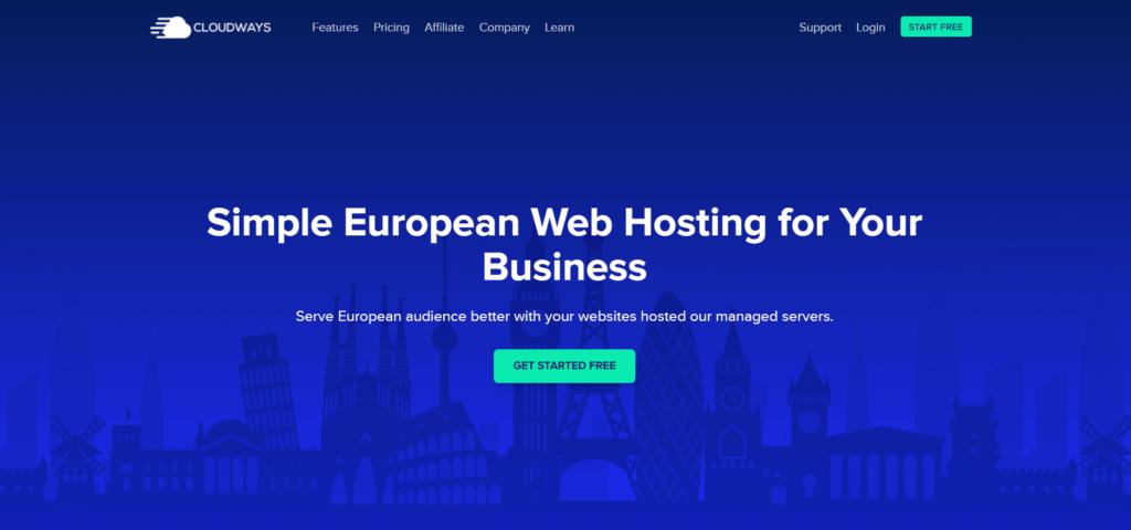 cloudways europe hosting