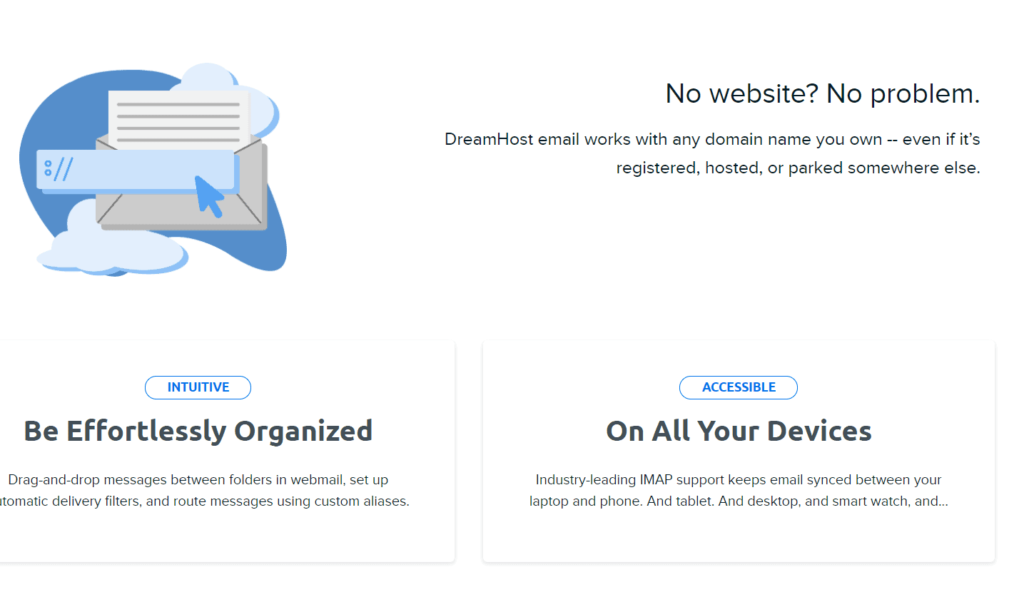 dreamhost email hosting
